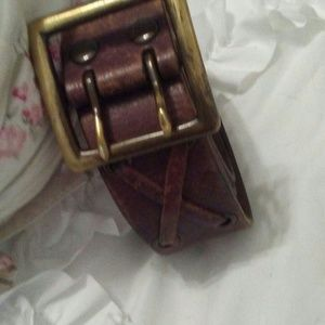 American Eagle Brown Leather Belt